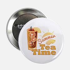 """Summer Tea Time 2.25"""" Button (10 pack)"""