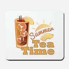 Summer Tea Time Mousepad