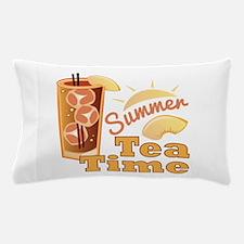 Summer Tea Time Pillow Case