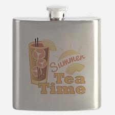 Summer Tea Time Flask
