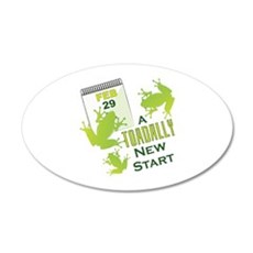 Toadally New Start Wall Decal