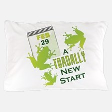 Toadally New Start Pillow Case