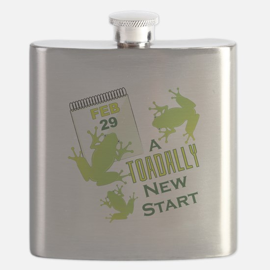 Toadally New Start Flask