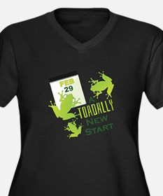 Toadally New Start Plus Size T-Shirt