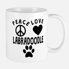 Peace Love Labradoodle Mugs