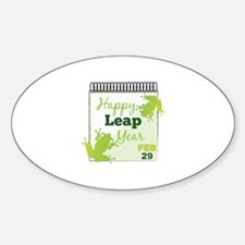 Happy Leap Year Feb 29 Decal