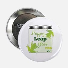 "Happy Leap Year Feb 29 2.25"" Button (10 pack)"