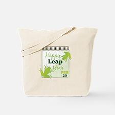 Happy Leap Year Feb 29 Tote Bag