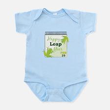 Happy Leap Year Feb 29 Body Suit