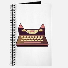Cat Typewriter Journal