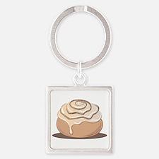 Cinnamon Bun Keychains