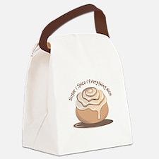 Sugar & Spice Canvas Lunch Bag