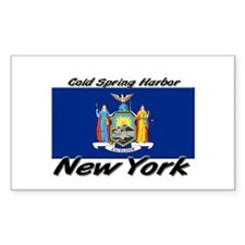 Cold Spring Harbor New York Rectangle Decal