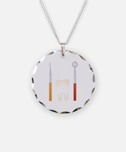 Dentist Tools Necklace