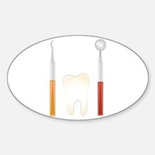 Dentist Tools Decal