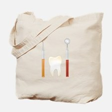 Dentist Tools Tote Bag