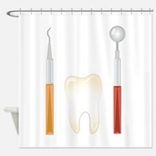 Dentist Tools Shower Curtain