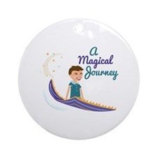 Magical Journey Round Ornament