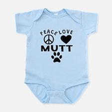 Peace Love Mutt Body Suit
