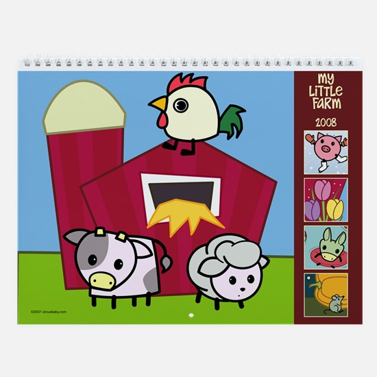 Little Farm Wall Calendar