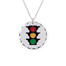 Traffic Light Necklace