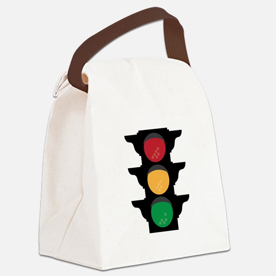 Traffic Light Canvas Lunch Bag