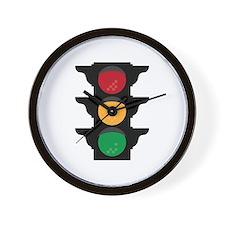 Traffic Light Wall Clock
