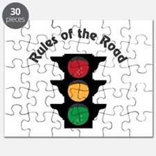Rules Of Road Puzzle