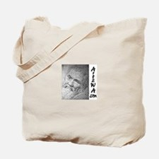 The Creation of Adam by Michaelangelo Tote Bag