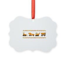 Big Truck Border Ornament