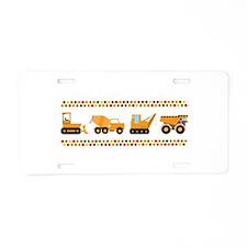 Big Truck Border Aluminum License Plate