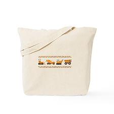 Big Truck Border Tote Bag