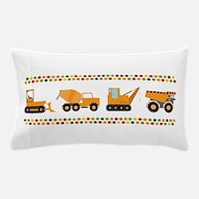 Big Truck Border Pillow Case