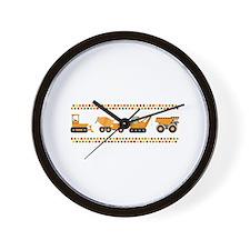 Big Truck Border Wall Clock