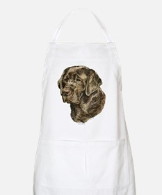 Chocolate Labrador Head BBQ Apron