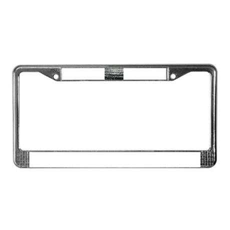 Ancient China Collection License Plate Frame