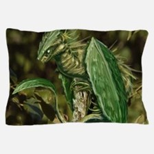 Earth Leaf Dragon Pillow Case