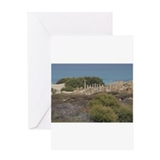 Ancient Libya Collection Greeting Card
