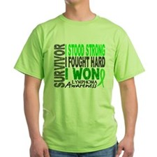 Funny Non hodgkin%27s lymphoma survivorship T-Shirt
