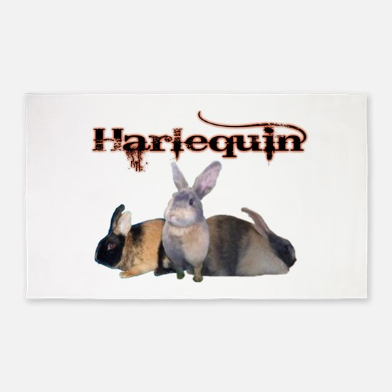 The Harlequin 3'x5' Area Rug