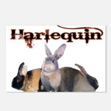 The Harlequin Postcards (Package of 8)