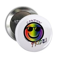 Gay Pride London Button