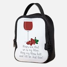 Keep Glass Full Neoprene Lunch Bag