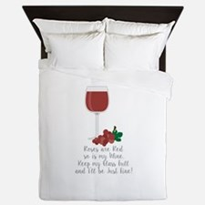 Keep Glass Full Queen Duvet