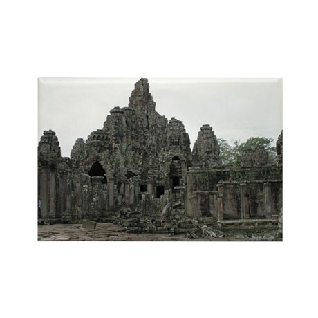 Ancient Cambodia Collection 2 Rectangle Magnet