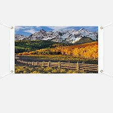 Autumn Mountain Landscape Banner