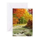 Autumn trees Greeting Cards (20 Pack)