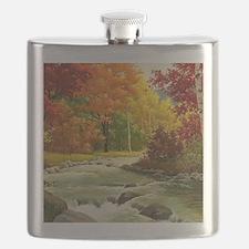 Autumn Landscape Flask