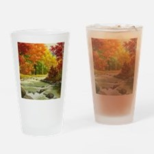 Autumn Landscape Drinking Glass