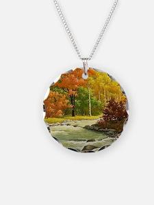 Autumn Landscape Necklace